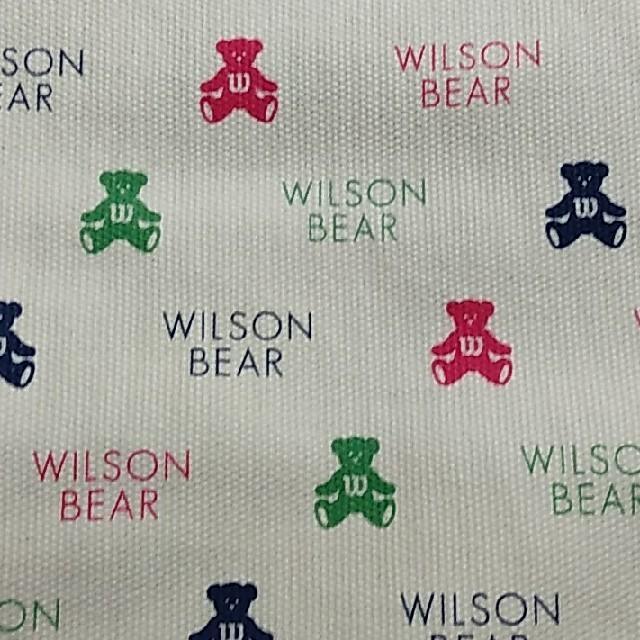 wilson(ウィルソン)のWILSON ミニバッグ スポーツ/アウトドアのテニス(バッグ)の商品写真