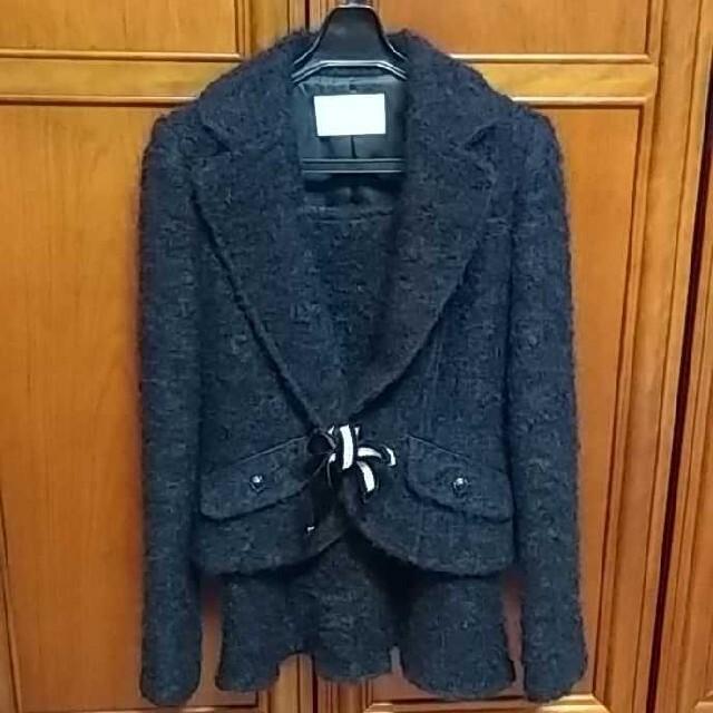 MICHEL KLEIN(ミッシェルクラン)のクレインドールKlein doeilスカートスーツ(上M、下S) レディースのフォーマル/ドレス(スーツ)の商品写真