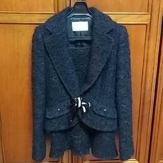 MICHEL KLEIN - クレインドールKlein doeilスカートスーツ(上M、下S)