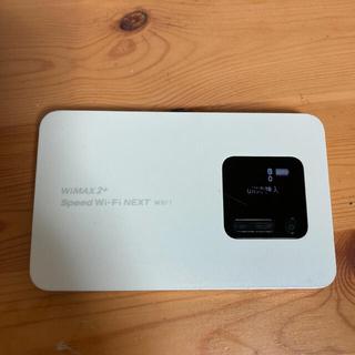 エヌイーシー(NEC)のWi-Fi ルーター NEC WX01 パールホワイト(PC周辺機器)