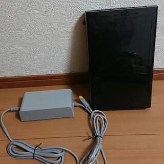 WiiU 本体 32GB 電源 ケーブル セット ブラック 黒(家庭用ゲーム機本体)