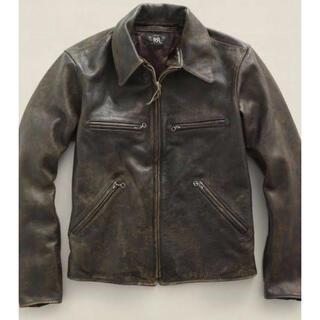 ダブルアールエル(RRL)の※名作※RRL Owens leather jacket(レザージャケット)