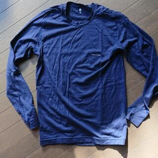 モンベル(mont bell)のモンベル メンズM メリノウール M.W ロングスリーブ 中厚手 長袖 インナー(Tシャツ/カットソー(七分/長袖))