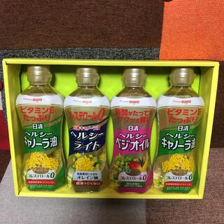 ニッシンショクヒン(日清食品)の日清オイリオ ヘルシーオイルギフトセット(調味料)