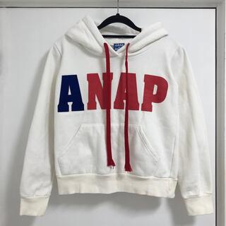 アナップ(ANAP)のANAP パーカー 裏起毛 トレーナー フーディー(パーカー)