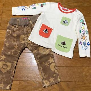 カステルバジャック(CASTELBAJAC)のロンT☆ジーンズ☆2枚セット(Tシャツ)
