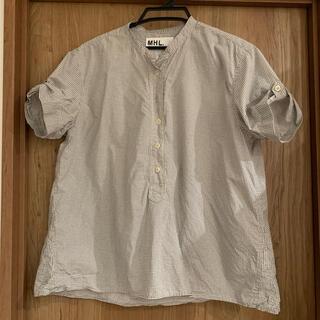 マーガレットハウエル(MARGARET HOWELL)のMHLシャツ(シャツ/ブラウス(半袖/袖なし))