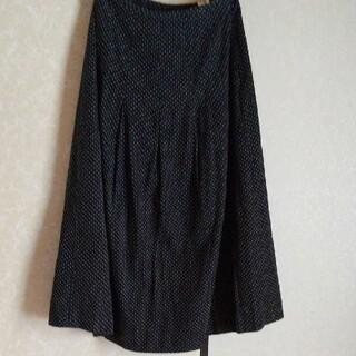サンタモニカ(Santa Monica)の古着 コーデュロイ ドット柄 ロングスカート(ロングスカート)
