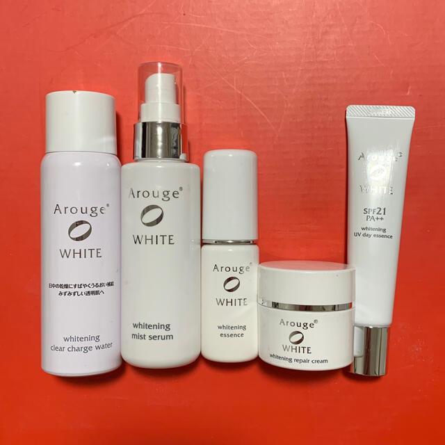Arouge(アルージェ)のアルージェ ホワイトニング シリーズ セット コスメ/美容のスキンケア/基礎化粧品(化粧水/ローション)の商品写真