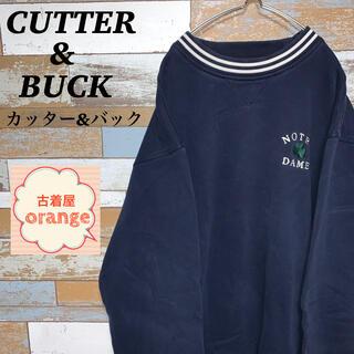 カッターアンドバック(CUTTER & BUCK)の【XLサイズ】【90s】カッター&バック スウェット アウター プルオーバー(スウェット)
