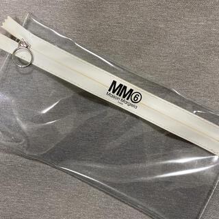 エムエムシックス(MM6)のMM6 クリアポーチ SUPR付録(ポーチ)