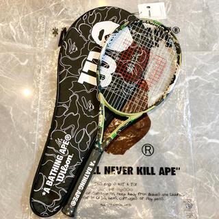 アベイシングエイプ(A BATHING APE)のA BATHING APE × WILSON テニスラケット(ラケット)