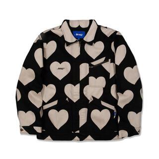 希少 20aw awake Hearts Harrington Jacket M(Gジャン/デニムジャケット)