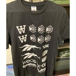 リーボック(Reebok)のwoodwood × reebok Tシャツ(Tシャツ/カットソー(半袖/袖なし))