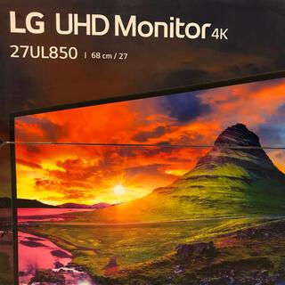 エルジーエレクトロニクス(LG Electronics)のLG 4K モニター 27UL850(PC周辺機器)