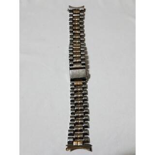 セイコー(SEIKO)の商品NO.227♪カン幅18mm【中古品】SEIKO♪金銀色・金属ベルト♪(金属ベルト)