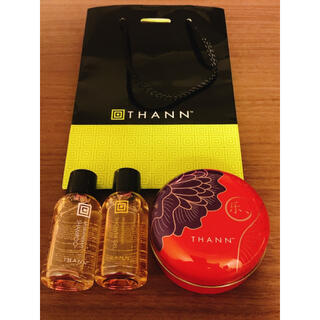 タン(THANN)のTHANN ソープ•シャンプー•シャワージェル・ミニバッグ(ボディソープ/石鹸)