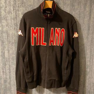 カッパ(Kappa)の激レア kappa MILANO ジャージ トップス 90's  古着 刺繍ロゴ(ジャージ)