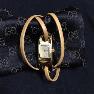 グッチ(Gucci)のGUCCI革紐ブレス 腕時計(腕時計)
