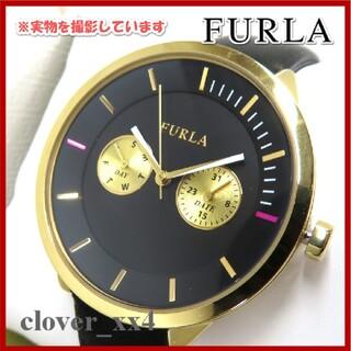 フルラ(Furla)のフルラ 腕時計 極美品 ブラック 箱付き METOROPOLIS FURLA時計(腕時計)