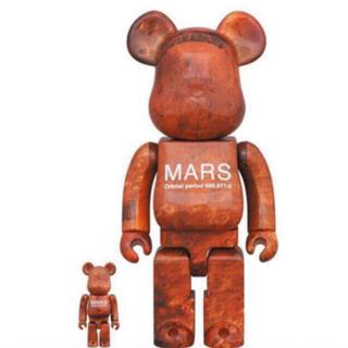 メディコムトイ(MEDICOM TOY)の即日発送可能 MARS BE@RBRICK 100% & 400% (その他)