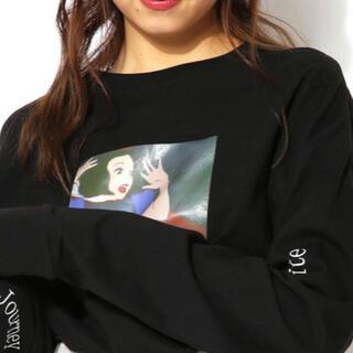 スピンズ(SPINNS)の【新品】ディズニー ロンT プリンセス 白雪姫 人気(Tシャツ(長袖/七分))