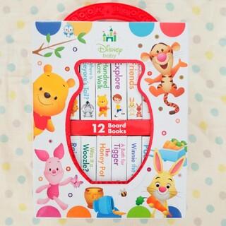 クマノプーサン(くまのプーさん)の【新品】Disney Baby くまのプーさん ミニボードブック(絵本/児童書)