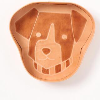 スタディオクリップ(STUDIO CLIP)の犬 革トレー(小物入れ)