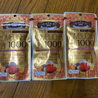 ヤクルト(Yakult)のユーワ SUPER KOMBUCHA 1000mg 56粒  56粒x3個(ダイエット食品)
