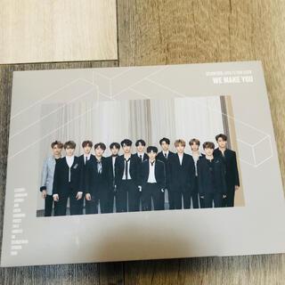 セブンティーン(SEVENTEEN)のSEVENTEEN  ファンミBlu-ray+CD WEMAKEYOU(韓国/アジア映画)