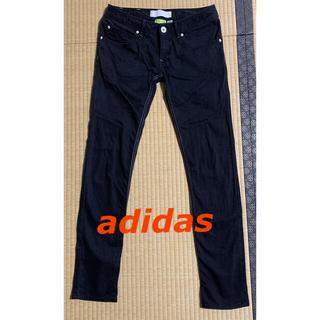アディダス(adidas)のアディダス ブラックジーンズ(デニム/ジーンズ)