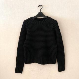 ファビアンルー(Fabiane Roux)のfabian roux♡黒色のローゲージニット(ニット/セーター)