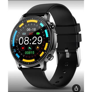 スマートウォッチ レディース メンズ 1.3インチフルタッチ(腕時計(デジタル))