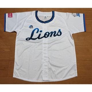 サイタマセイブライオンズ(埼玉西武ライオンズ)のシロ様専用 西武ライオンズユニフォーム、モップ2点セット(ウェア)