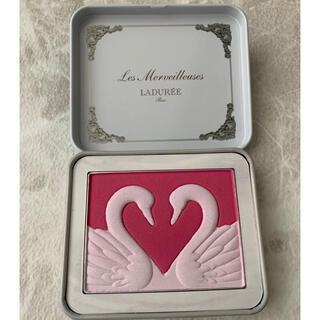 レメルヴェイユーズラデュレ(Les Merveilleuses LADUREE)のチークカラー101(チーク)