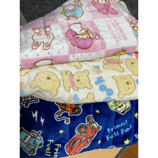 3枚セット 子供用 布団 敷きパット 冬用(敷パッド)
