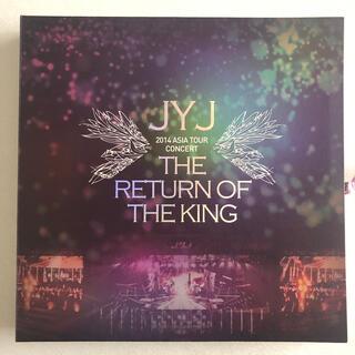 ジェイワイジェイ(JYJ)のJYJ 2014 THE RETURN OF THE KING DVD(ミュージック)