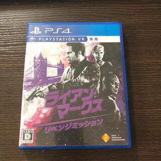 プレイステーションヴィーアール(PlayStation VR)のライアン・マークス リベンジミッション PS4(家庭用ゲームソフト)