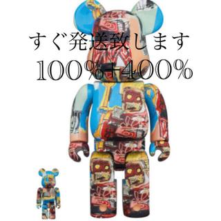 メディコムトイ(MEDICOM TOY)のJEAN-MICHEL BASQUIAT #6 100% & 400%(その他)