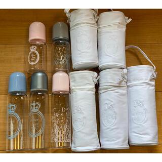 ベビーディオール(baby Dior)のDIOR 哺乳瓶 2本ピンク(哺乳ビン)