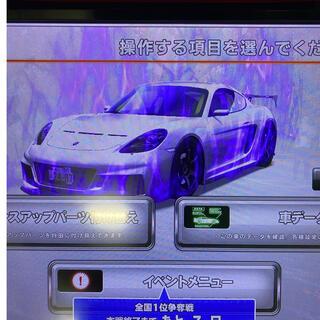 バンダイナムコエンターテインメント(BANDAI NAMCO Entertainment)の湾岸ミッドナイト 6R / 極め八段 /希少車 718ケイマン /ネット完全譲渡(その他)
