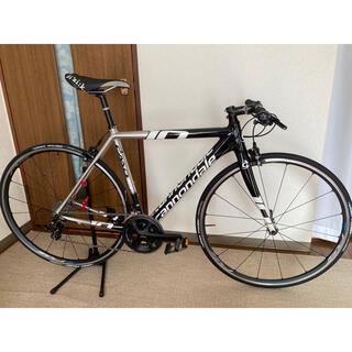 キャノンデール(Cannondale)の美品 キャノンデール CAAD10 50サイズ フラットバーロードバイク(自転車本体)