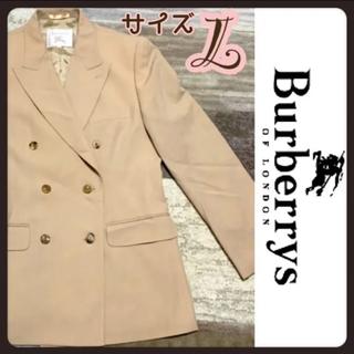 バーバリー(BURBERRY)のBurberry バーバリー ベージュ コート ジャケット Lサイズ(スプリングコート)