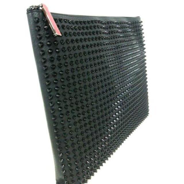 Christian Louboutin(クリスチャンルブタン)のクリスチャンルブタン クラッチバッグ 黒 レディースのバッグ(クラッチバッグ)の商品写真