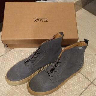 ヴァンズ(VANS)の【値下げ】VANS  ブーツ  グレー 試着のみ 27cm(ブーツ)