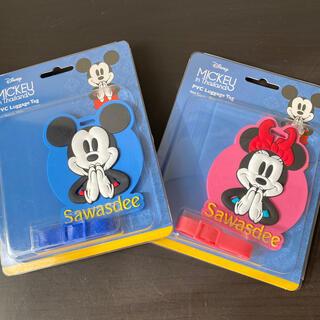ディズニー(Disney)のkei♡様専用ミッキーのみ ネームタグ ラゲージタグ ディズニー タイ限定(キャラクターグッズ)