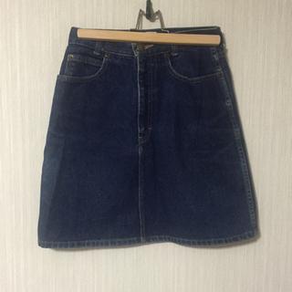 カルバンクライン(Calvin Klein)のcalvin klein 90s シンプル デニムスカート(ミニスカート)