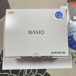 キョウセラ(京セラ)のBASIO4ワインレッド 新品未使用(スマートフォン本体)