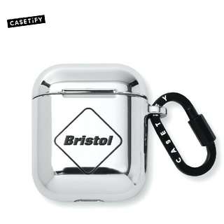 エフシーアールビー(F.C.R.B.)のF.C.Real Bristol AirPods CASETiFY シルバー(その他)