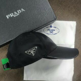 プラダ(PRADA)のPRADAプラダ キャップ 黒(キャップ)